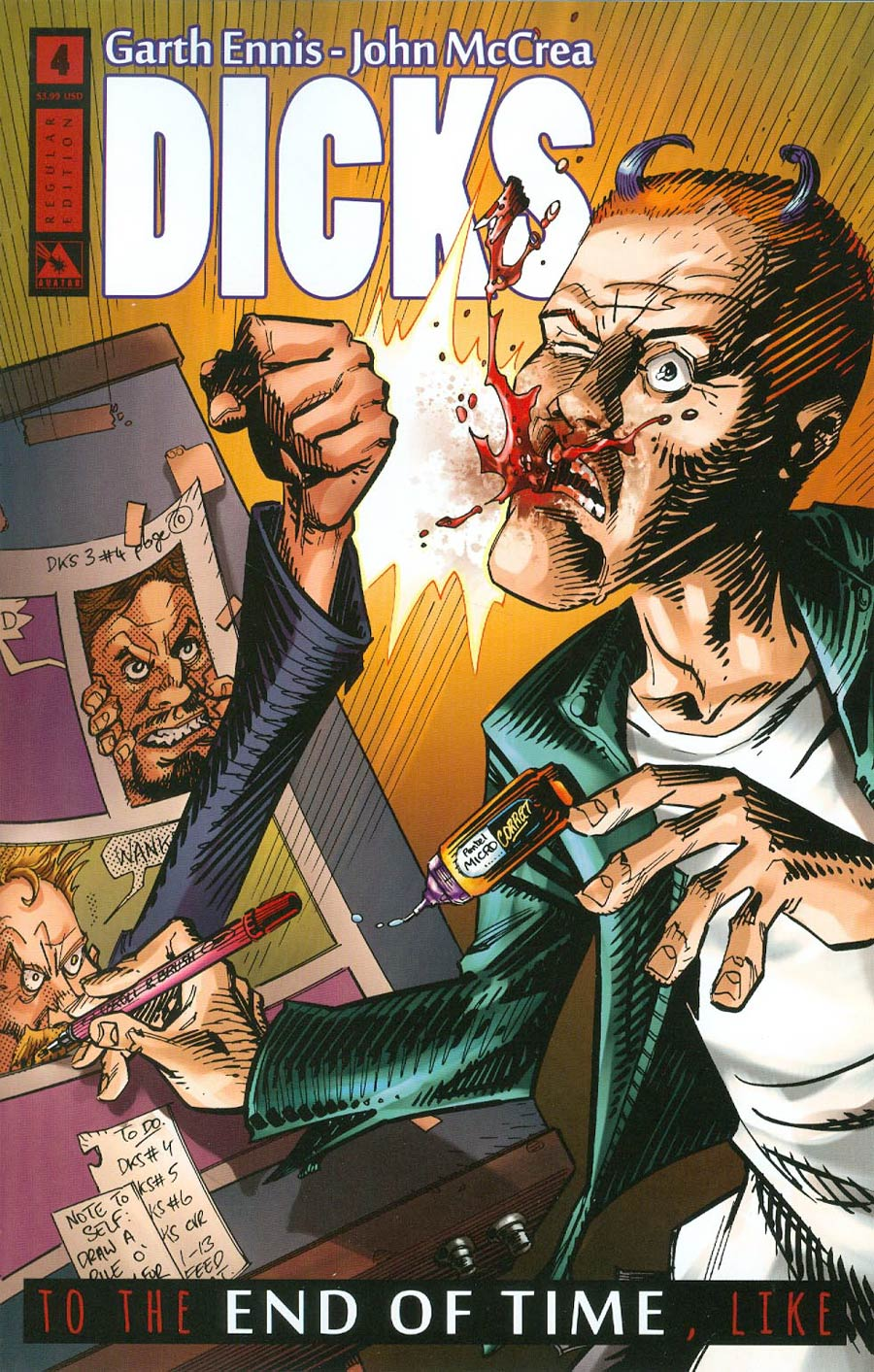 Dicks End Of Time #4 Cover A Regular Cover