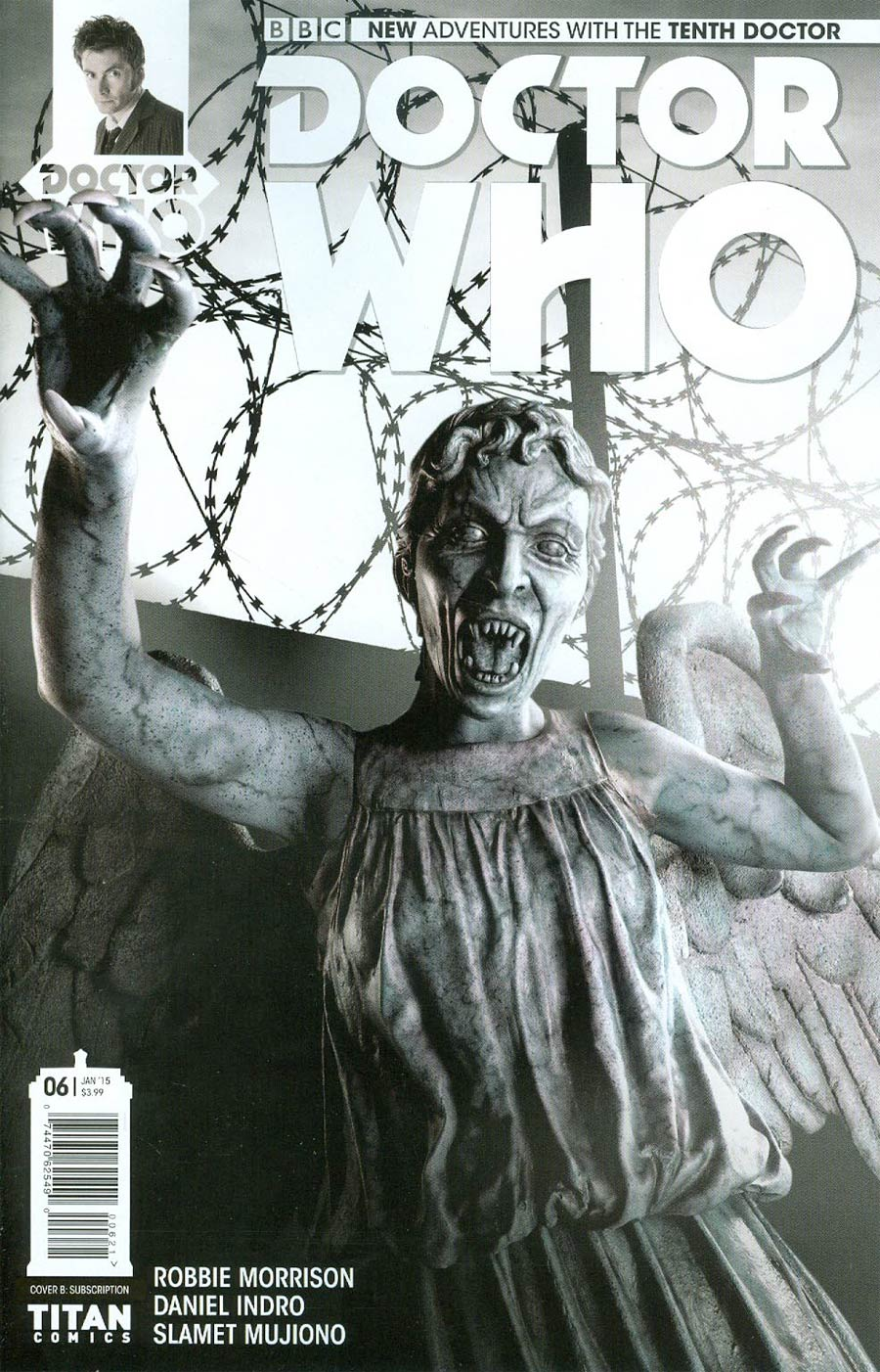 Doctor Who 10th Doctor #6 Cover B Variant Photo Subscription Cover