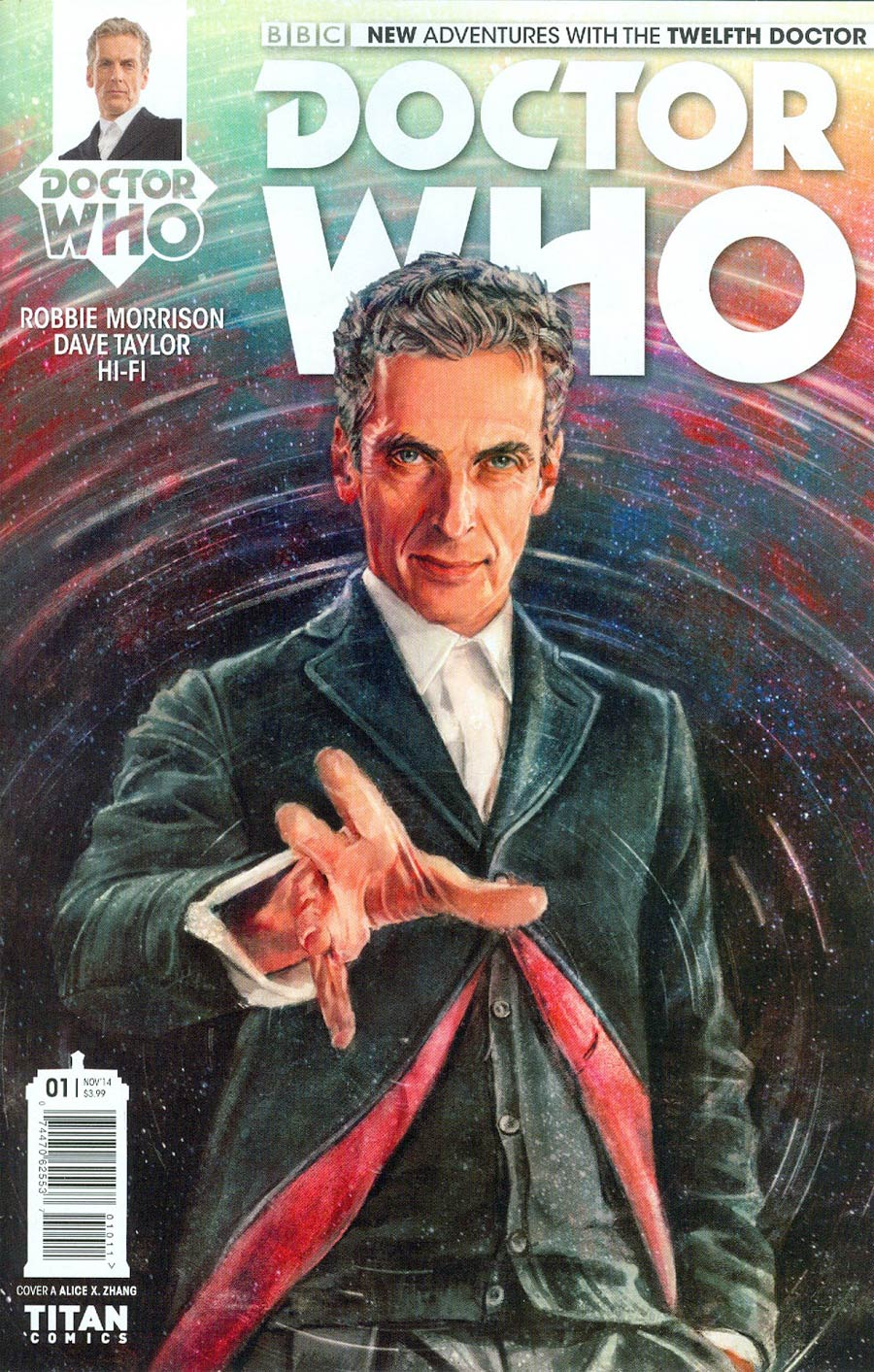 Doctor Who 12th Doctor #1 Cover A Regular Alice X Zhang Cover