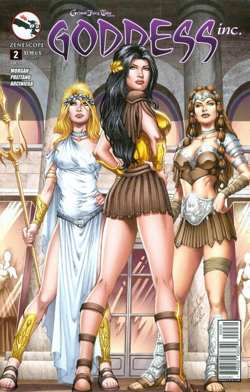 Grimm Fairy Tales Presents Goddess Inc #2 Cover C Jose Luis