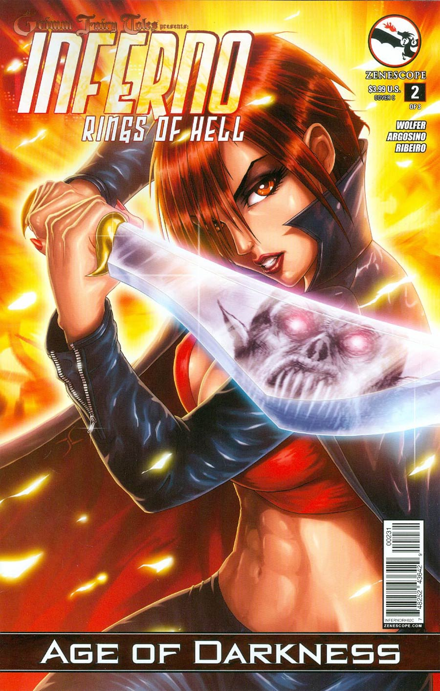 Grimm Fairy Tales Presents Inferno Rings Of Hell #2 Cover C Jason Cardy (Age Of Darkness Tie-In)