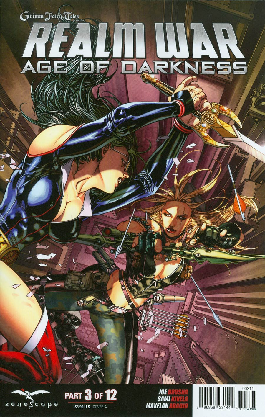 Grimm Fairy Tales Presents Realm War #3 Cover A Harvey Tolibao (Age Of Darkness Tie-In)