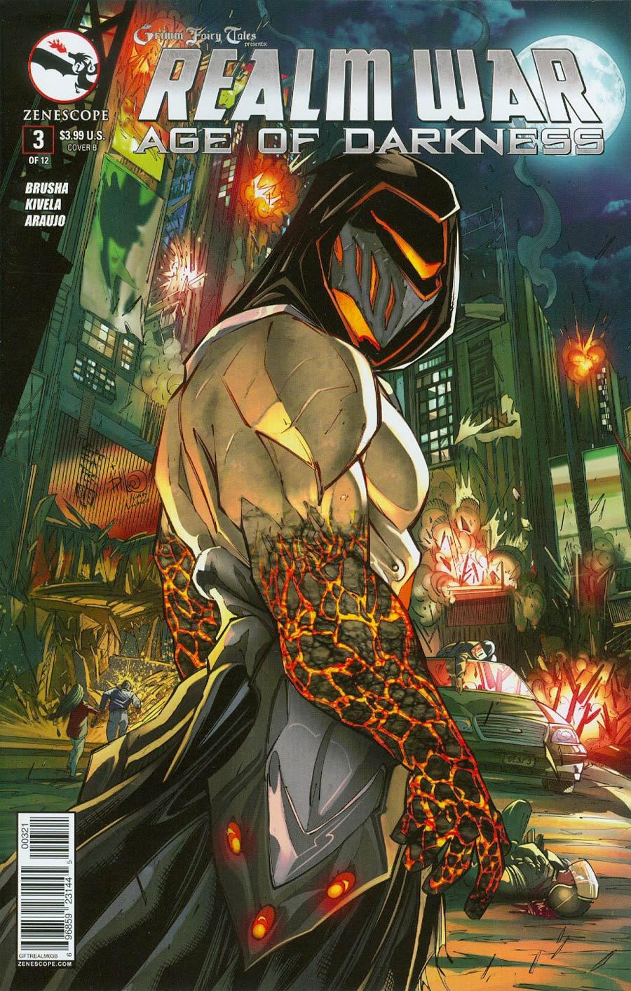 Grimm Fairy Tales Presents Realm War #3 Cover B Giuseppe Cafaro (Age Of Darkness Tie-In)