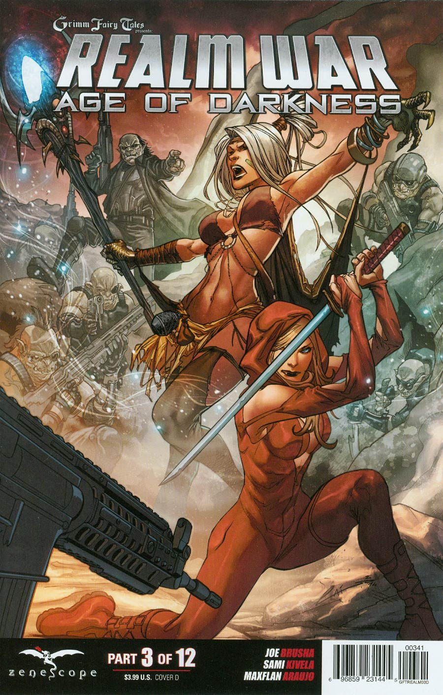 Grimm Fairy Tales Presents Realm War #3 Cover D Emilio Laiso (Age Of Darkness Tie-In)