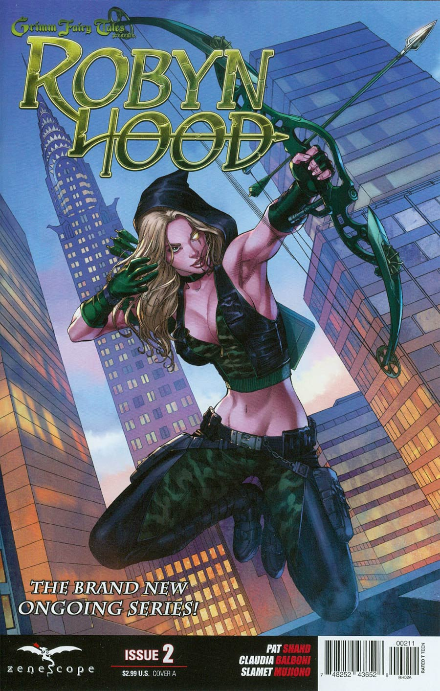 Grimm Fairy Tales Presents Robyn Hood Vol 2 #2 Cover A Mike S Miller