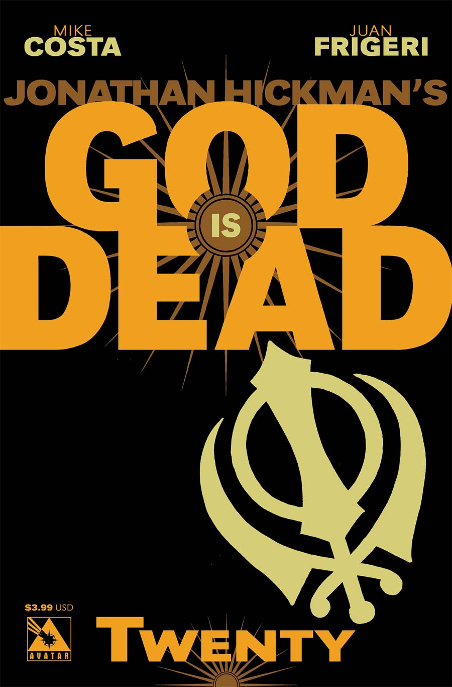 God Is Dead #20 Cover A Regular Cover