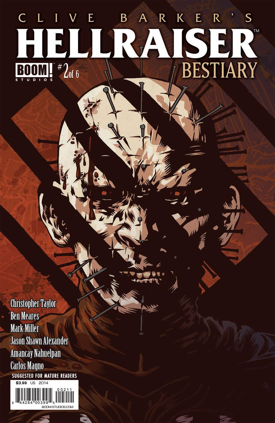 Clive Barkers Hellraiser Bestiary #2 Cover A Regular Conor Nolan Cover