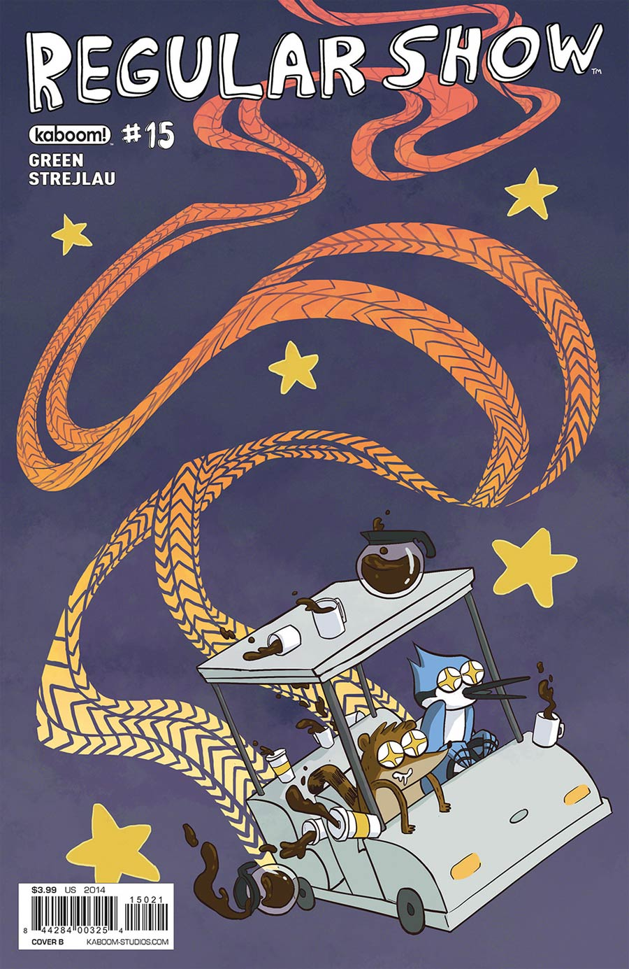 Regular Show #15 Cover B Variant Katie McDermott Subscription Cover
