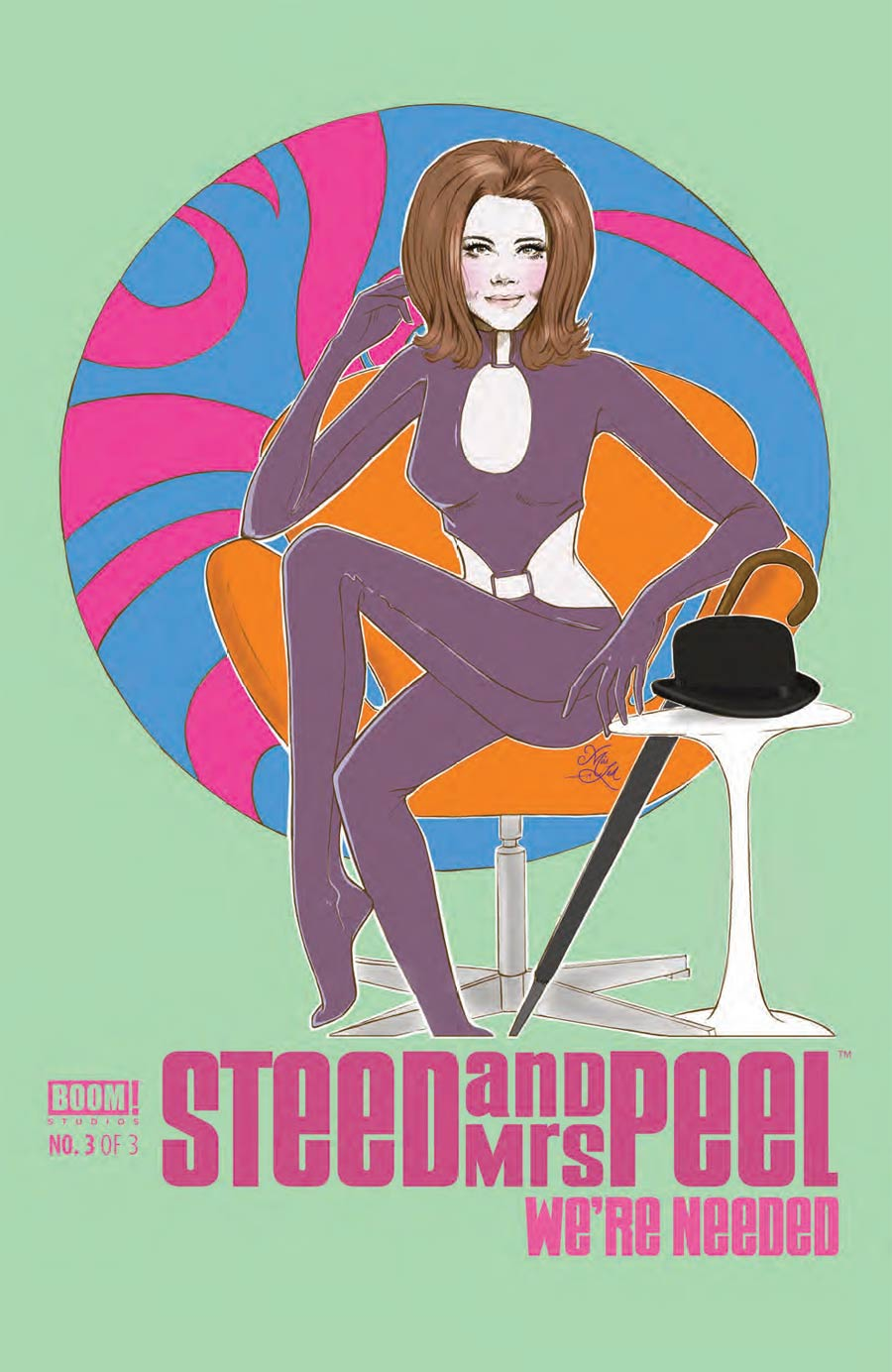 Steed And Mrs Peel Were Needed #3
