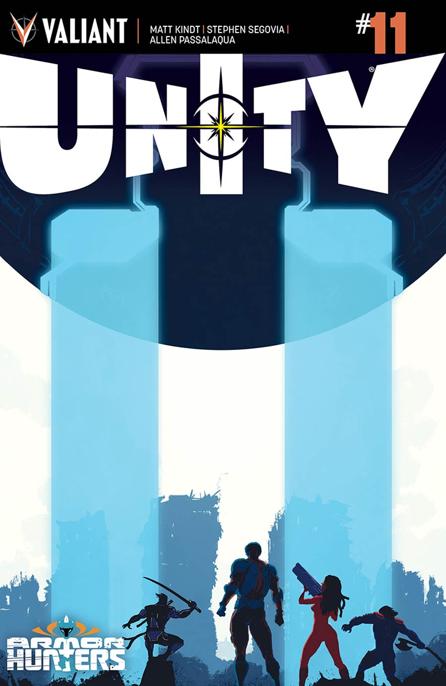 Unity Vol 2 #11 Cover A Regular Raul Allen Cover (Armor Hunters Tie-In)