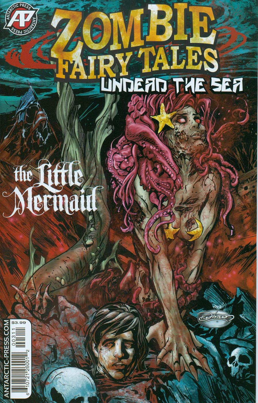 Zombie Fairy Tales Undead The Sea