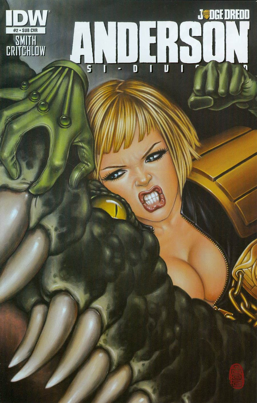 Judge Dredd Anderson Psi-Division #2 Cover B Variant Mimi Yoon Subscription Cover
