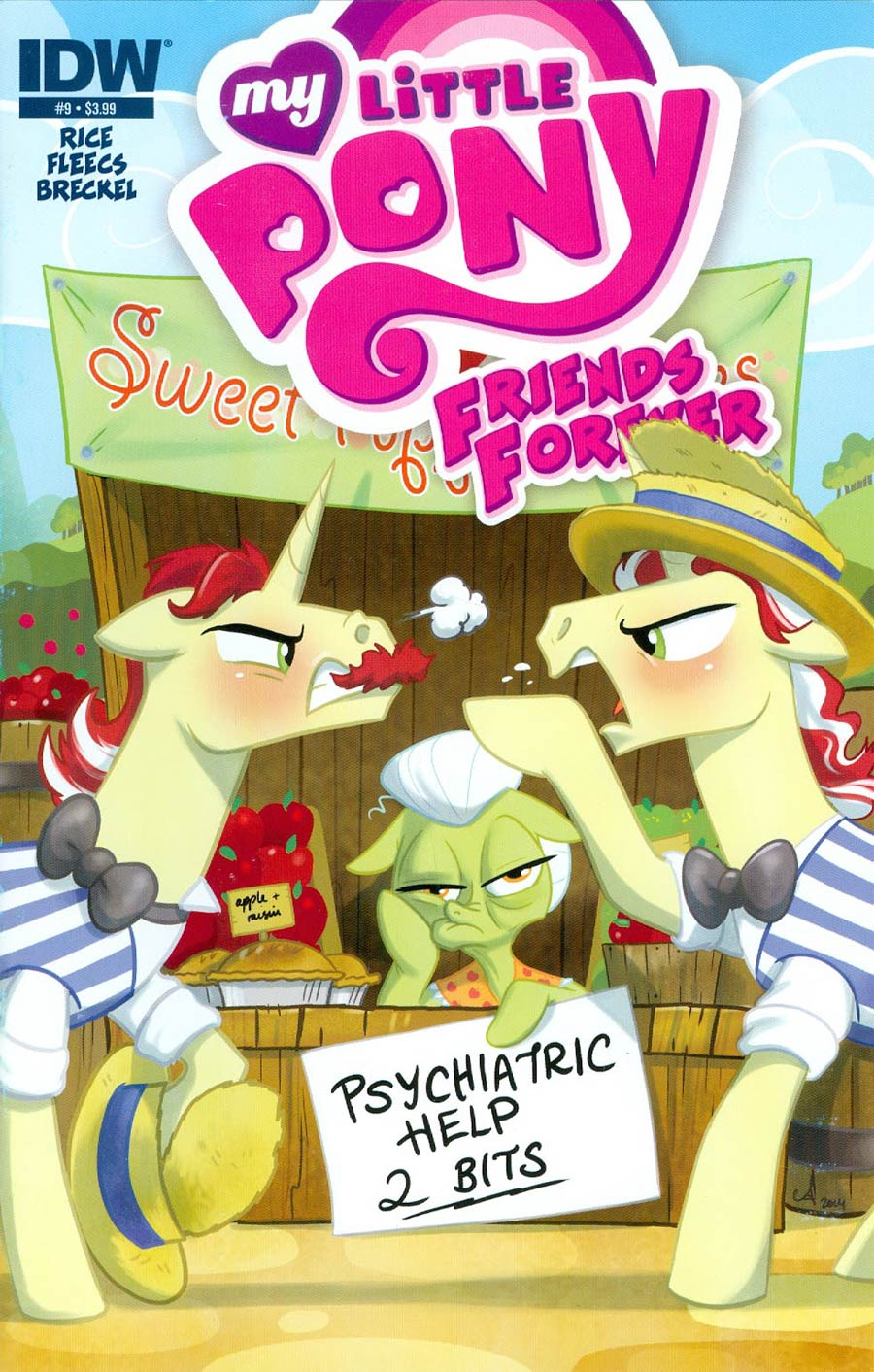 My Little Pony Friends Forever #9 Cover A Regular Amy Mebberson Cover