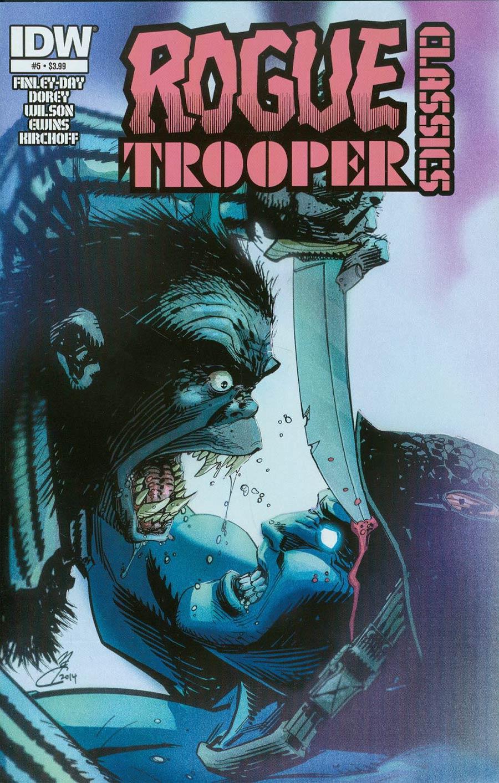 Rogue Trooper Classics #5 Cover A Regular John McCrea Cover