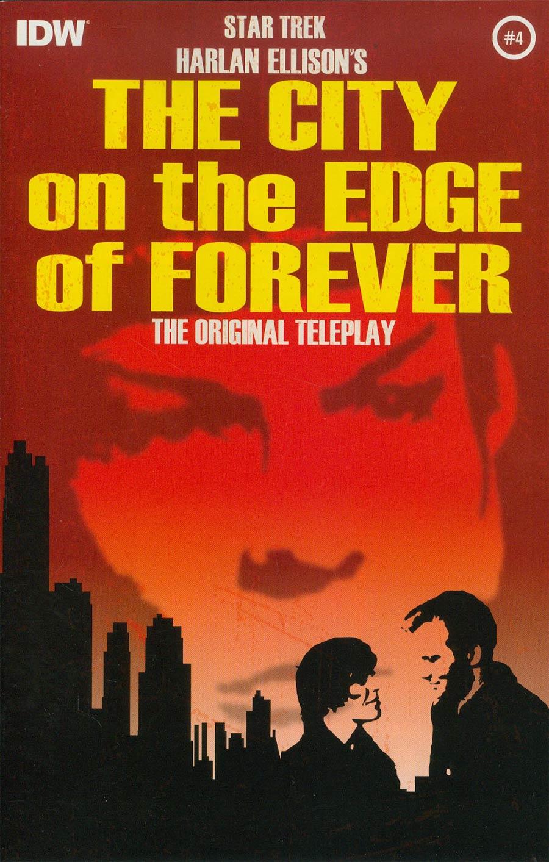 Star Trek Harlan Ellisons City On The Edge Of Forever Original Teleplay #4 Cover A Regular Juan Ortiz Cover