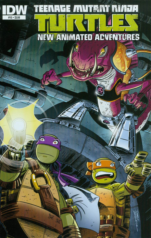 Teenage Mutant Ninja Turtles New Animated Adventures #15 Cover A Regular Dario Brizuela Cover