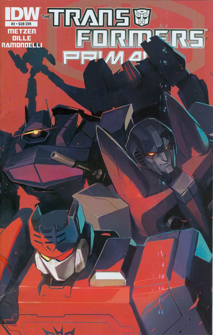 Transformers Primacy #2 Cover B Variant Sarah Stone Subscription Cover