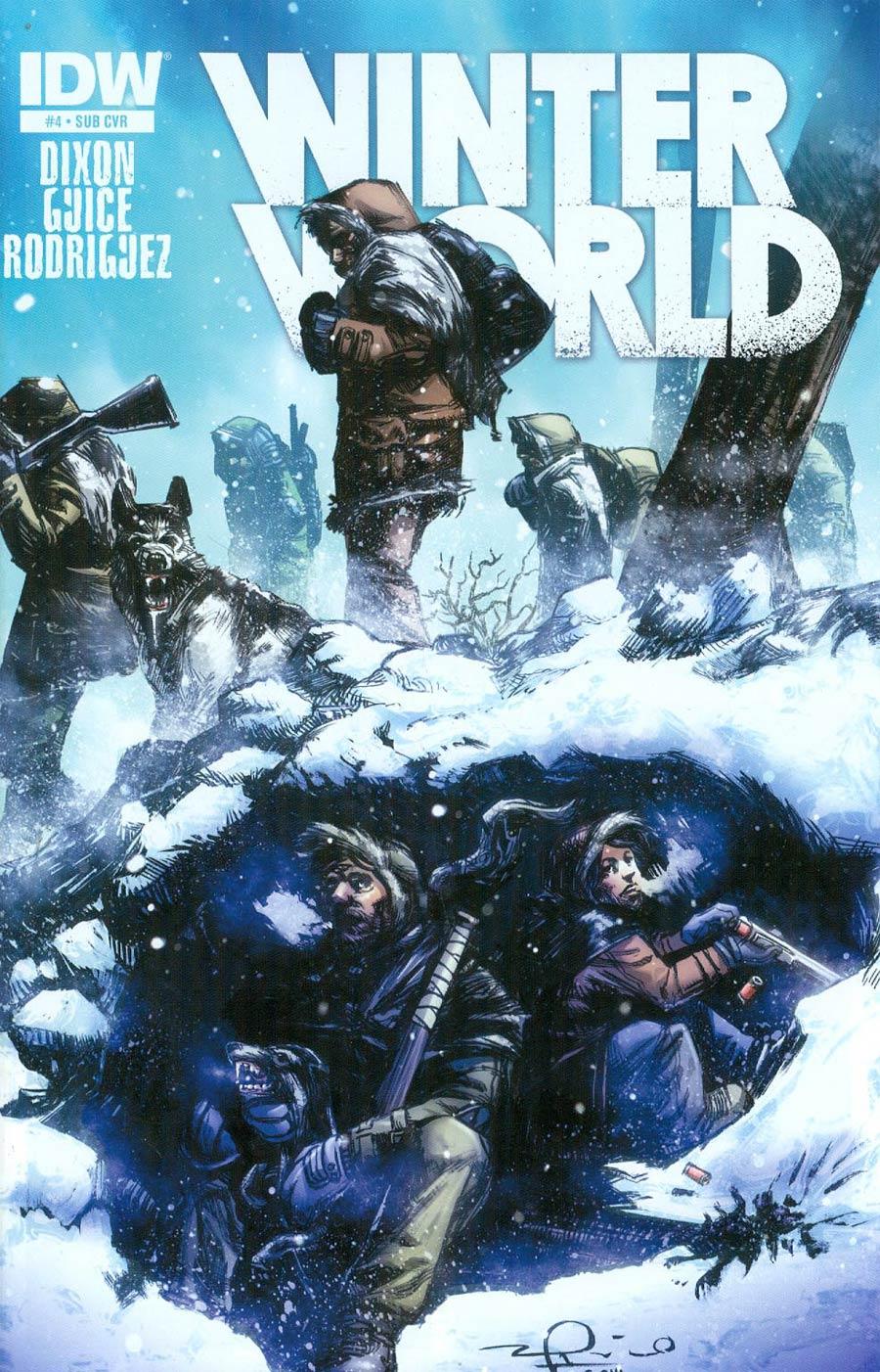Winterworld Vol 2 #4 Cover B Variant Gerardo Zaffino Subscription Cover
