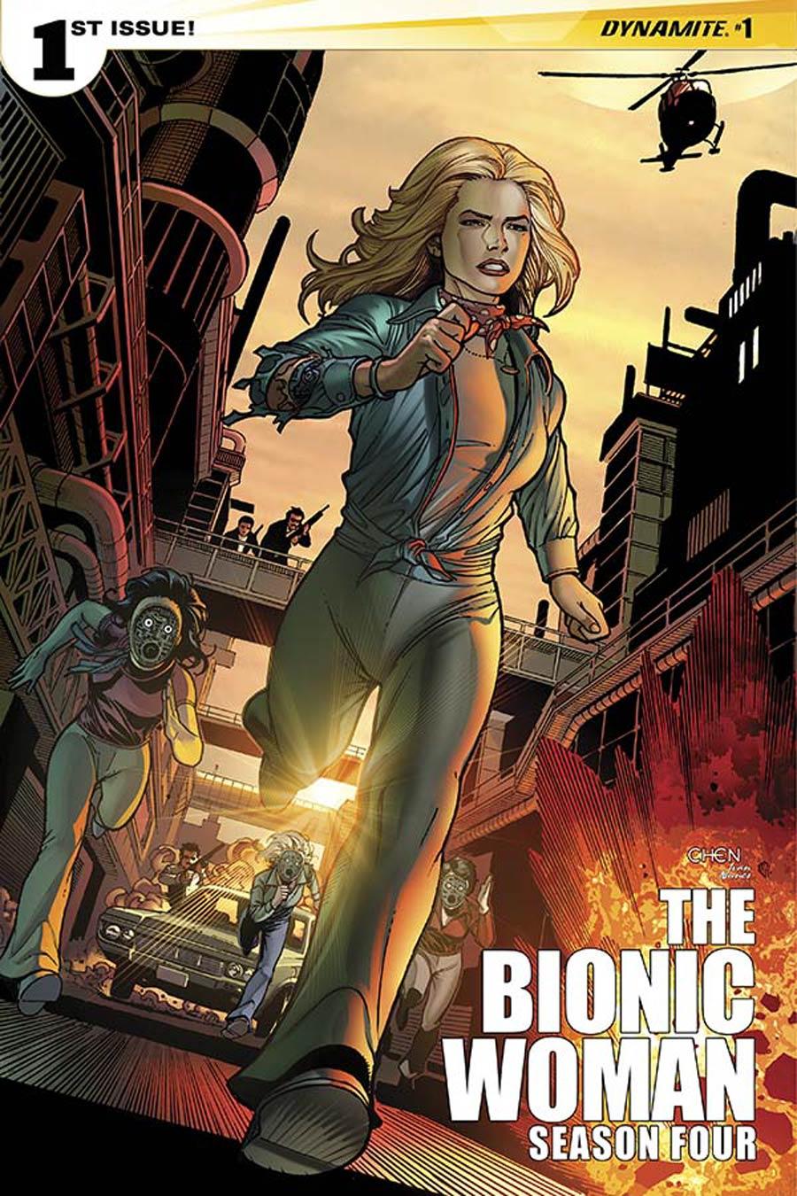Bionic Woman Season 4 #1 Cover A Regular Sean Chen Cover