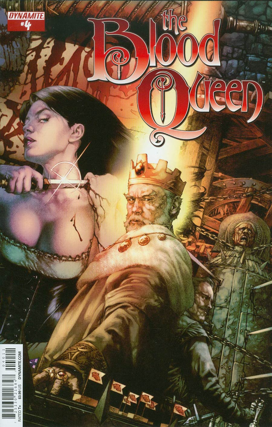Blood Queen #4 Cover A Regular Jay Anacleto Cover