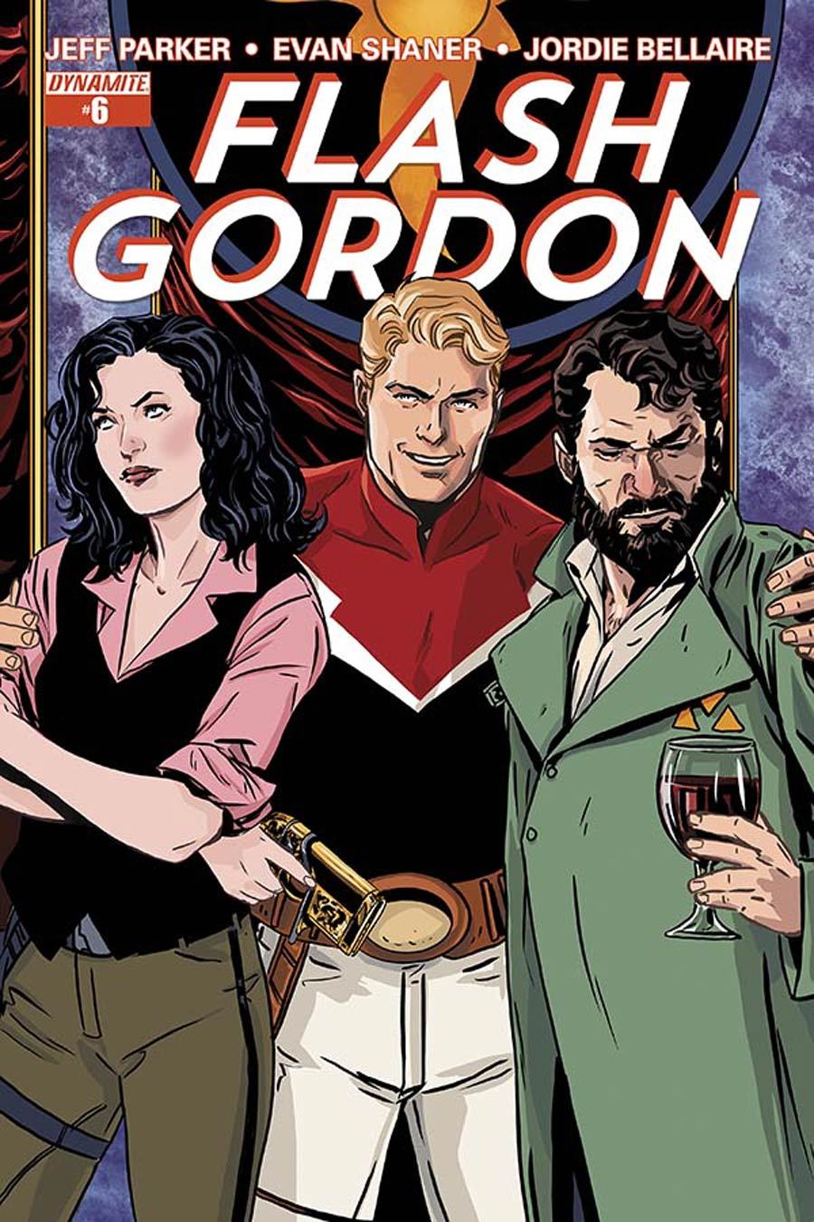 Flash Gordon Vol 7 #6 Cover A Regular Marc Laming Cover
