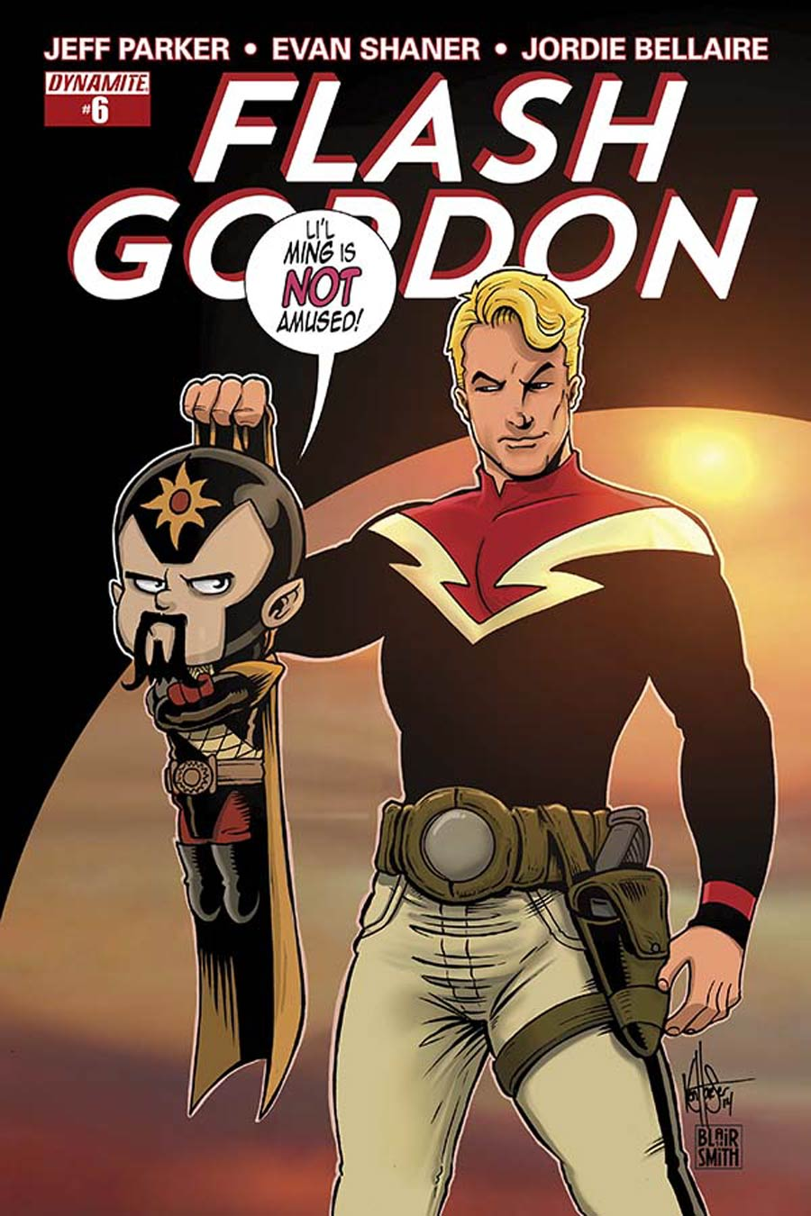 Flash Gordon Vol 7 #6 Cover B Variant Ken Haeser Subscription Cover