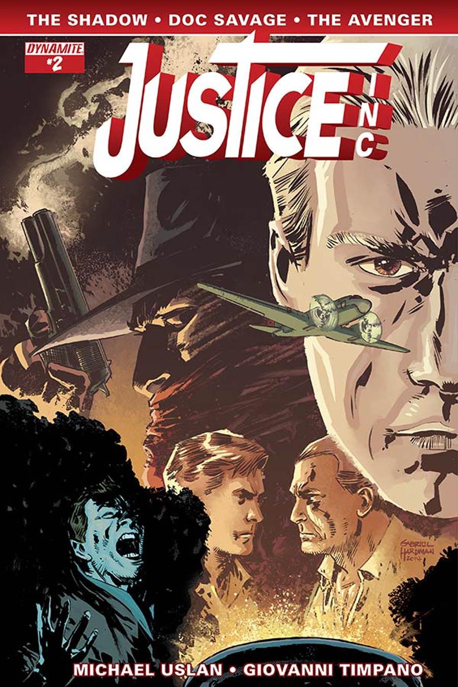 Justice Inc Vol 3 #2 Cover C Variant Gabriel Hardman Cover