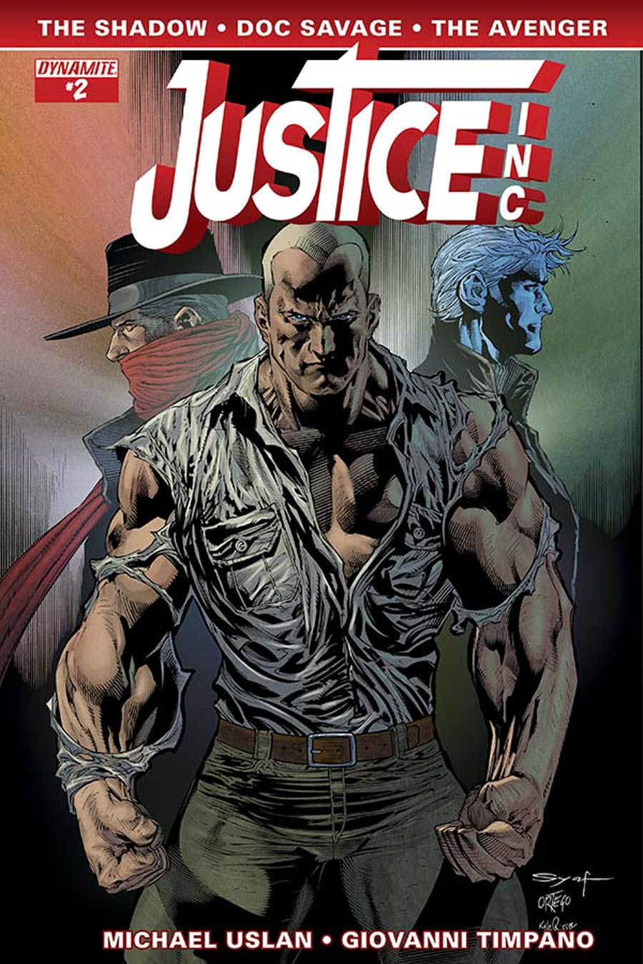 Justice Inc Vol 3 #2 Cover D Variant Ardian Syaf Cover