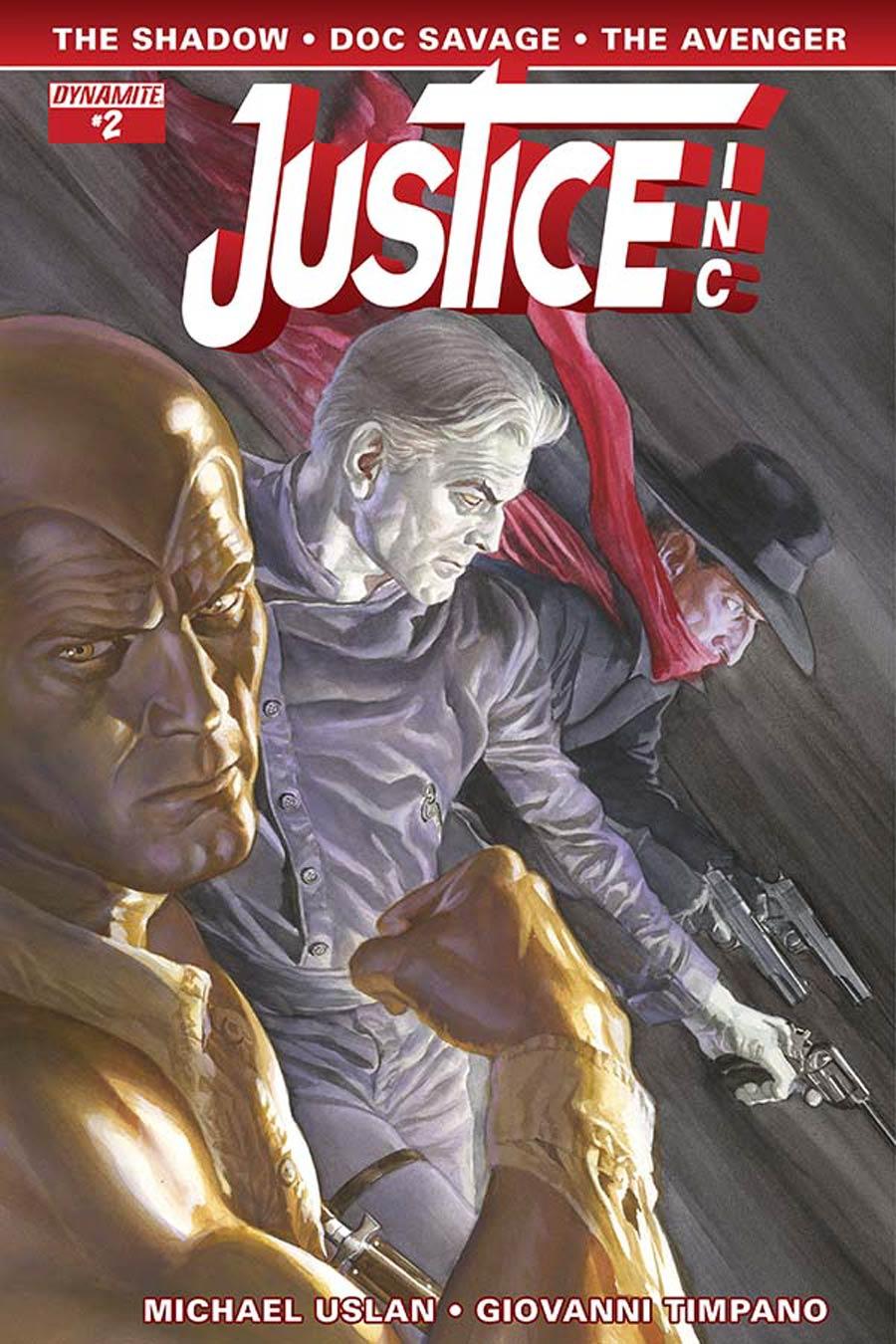 Justice Inc Vol 3 #2 Cover A Regular Alex Ross Cover
