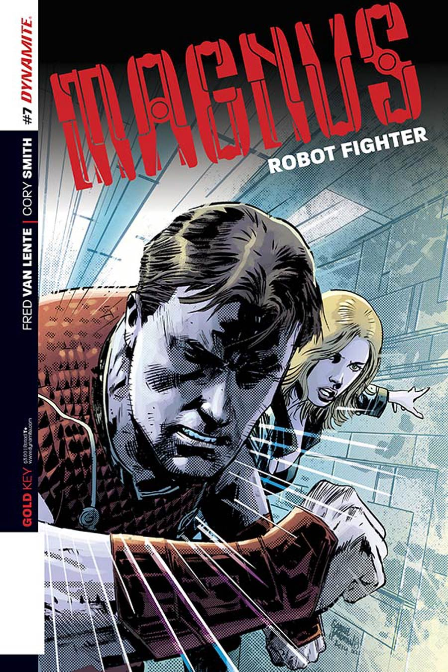 Magnus Robot Fighter Vol 4 #7 Cover A Regular Gabriel Hardman Cover