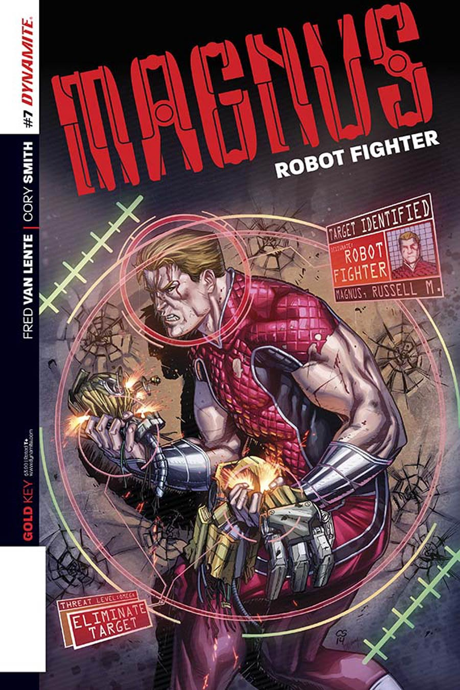 Magnus Robot Fighter Vol 4 #7 Cover B Variant Cory Smith Subscription Cover