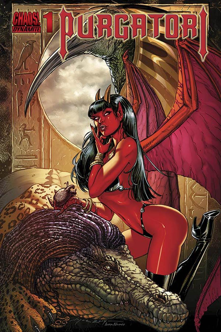 Purgatori Vol 3 #1 Cover B Variant Joyce Chin Cover