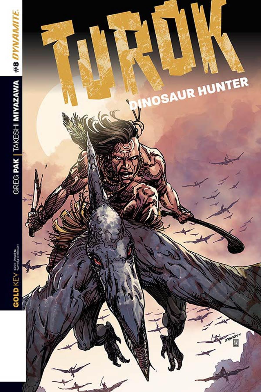 Turok Dinosaur Hunter Vol 2 #8 Cover A Regular Bart Sears Cover