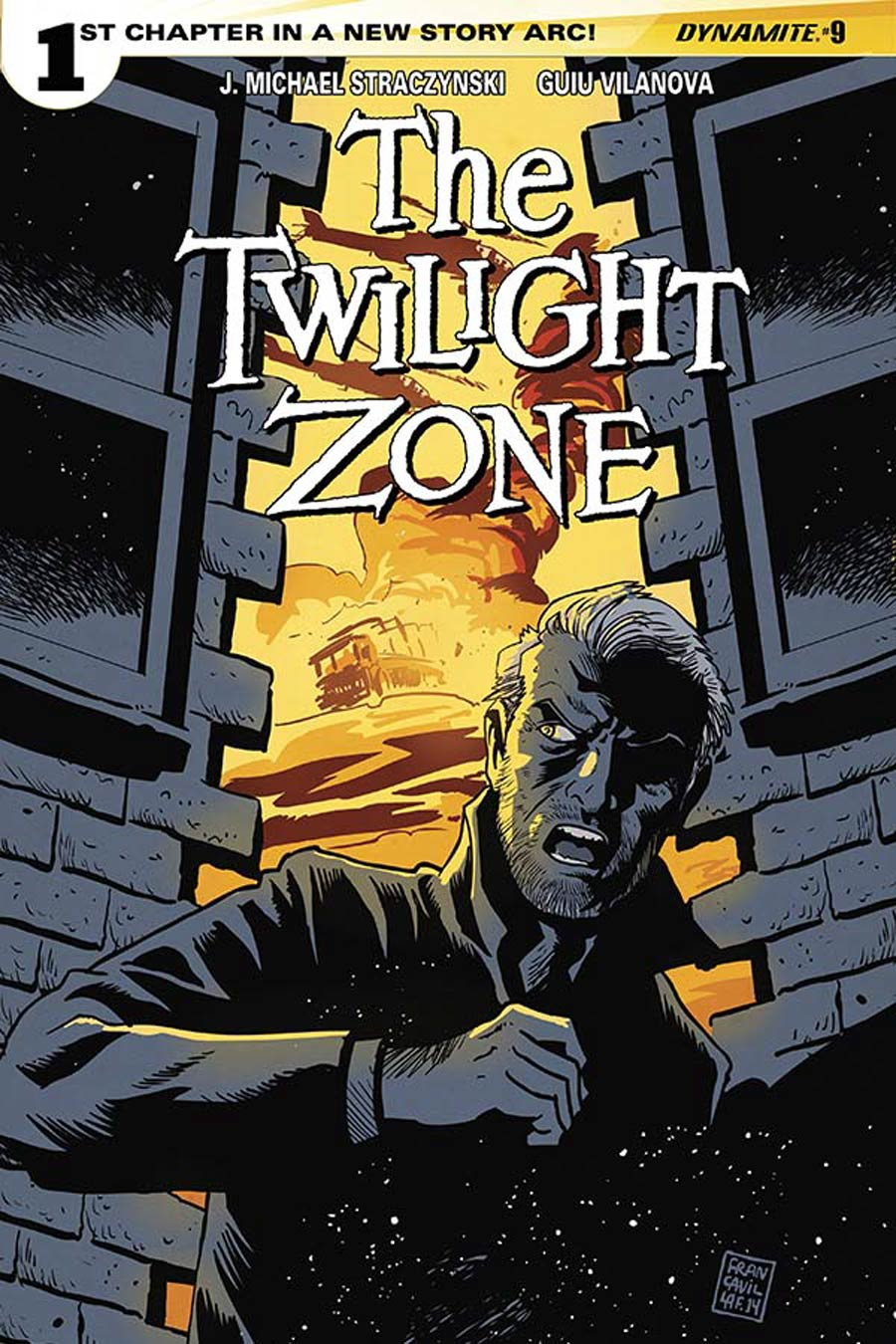 Twilight Zone Vol 5 #9 Cover A Regular Francesco Francavilla Cover
