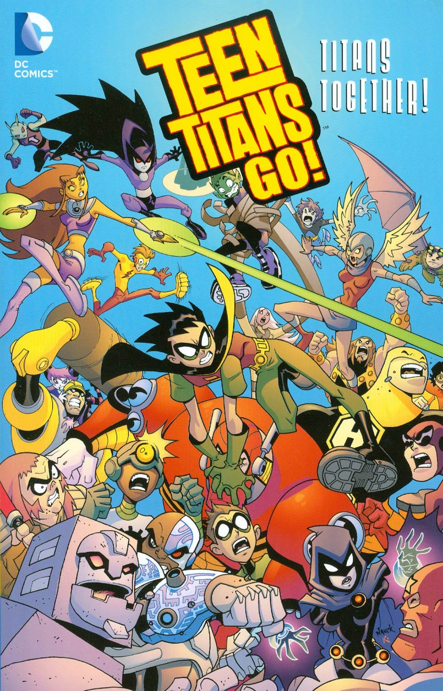 Teen Titans Go Titans Together TP New Printing