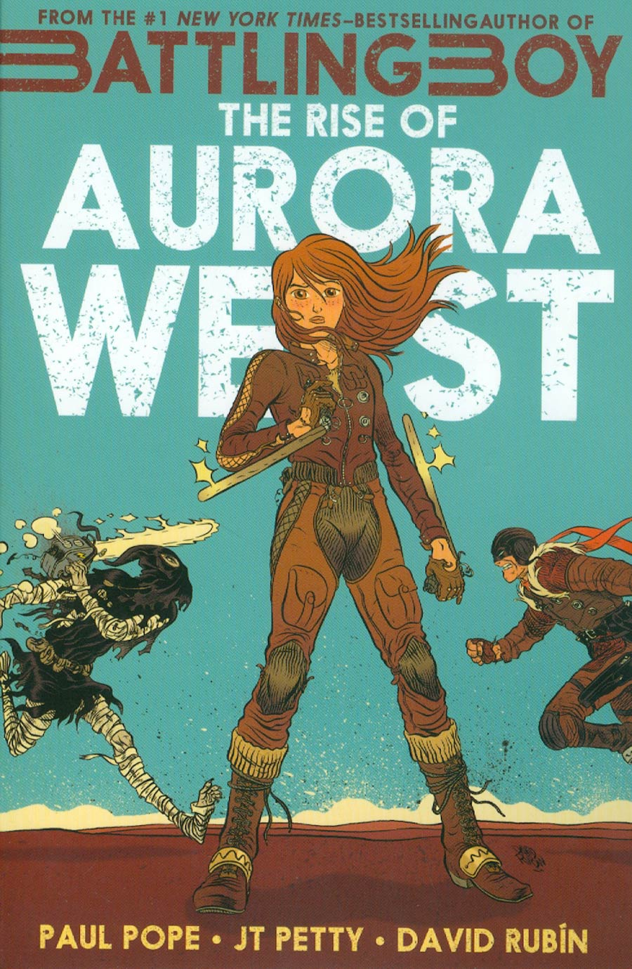 Battling Boy Rise Of Aurora West GN