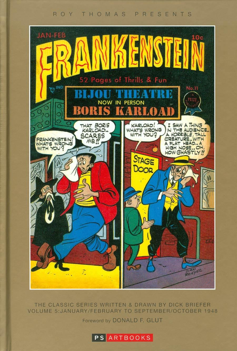 Roy Thomas Presents Dick Briefers Frankenstein Vol 5 1948 HC