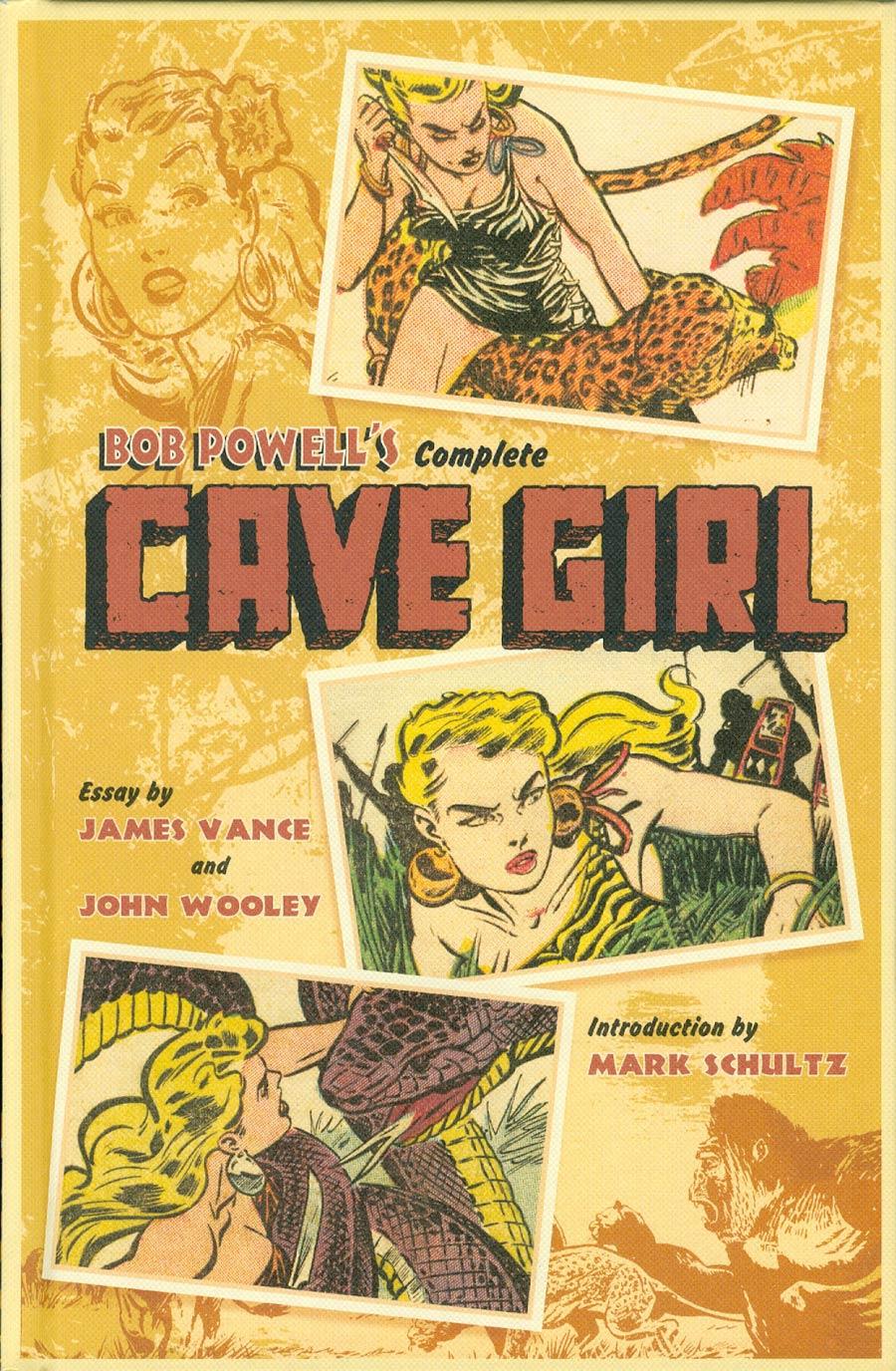 Bob Powells Complete Cave Girl HC