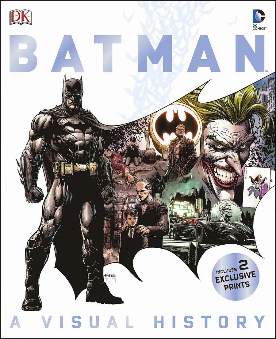 Batman A Visual History HC
