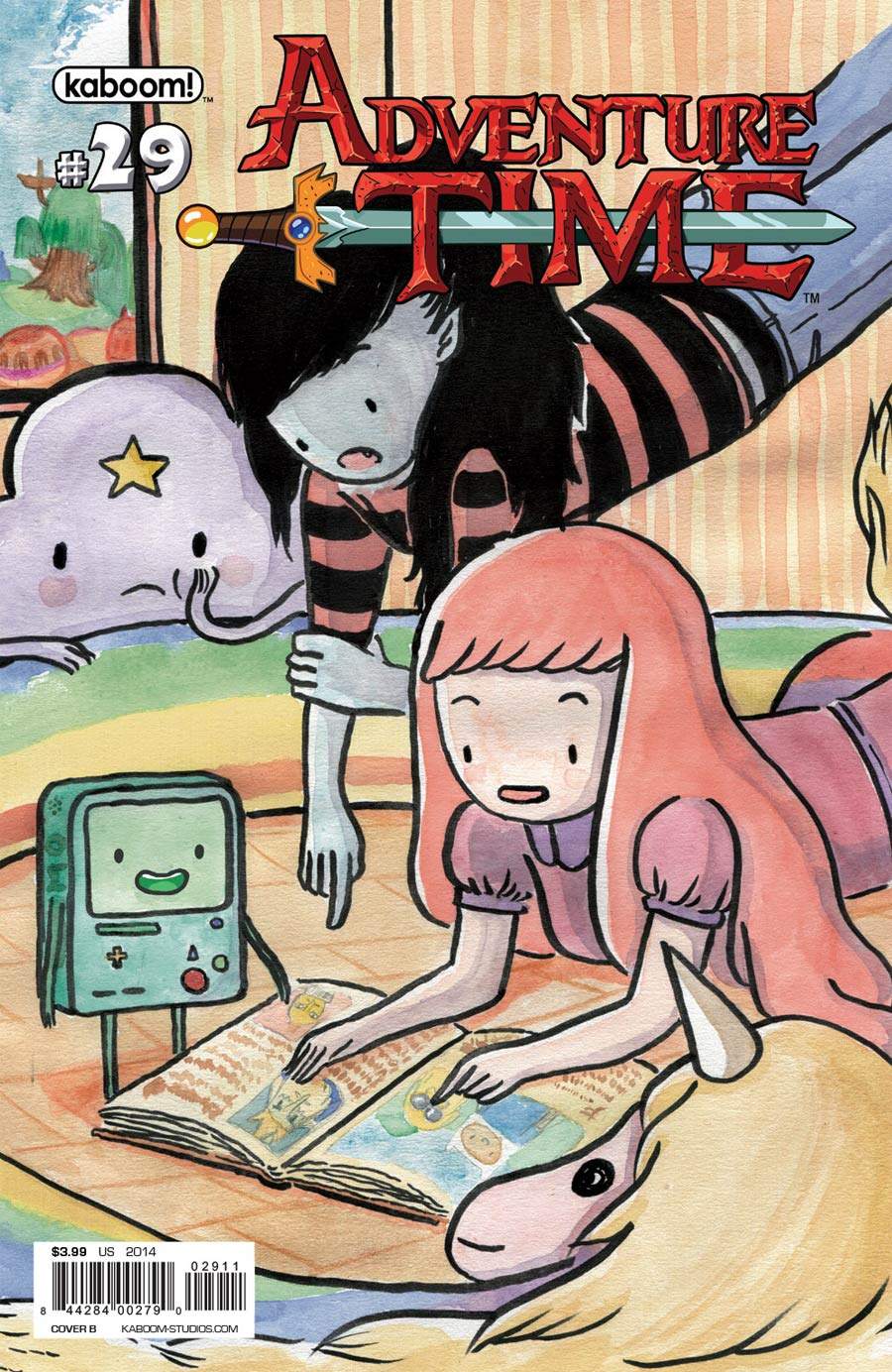 Adventure Time #29 Cover B Regular Luchie Cover