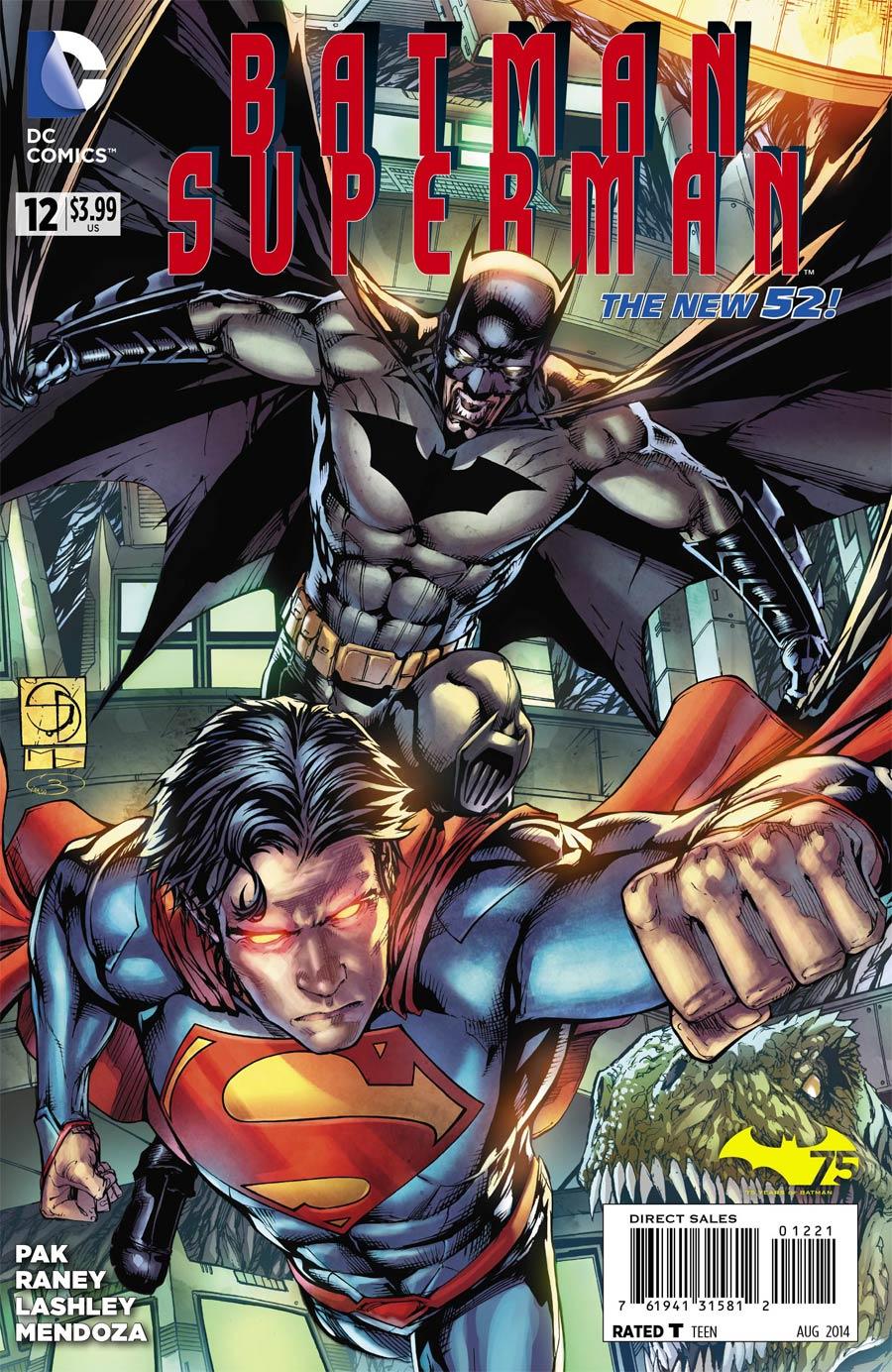 Batman Superman #12 Cover E Incentive Shane Davis Variant Cover