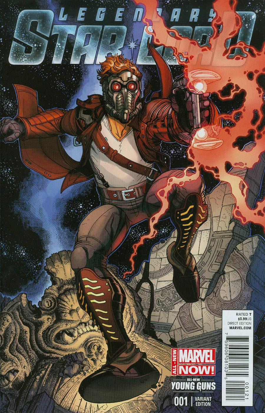 Legendary Star-Lord #1 Cover D Variant Nick Bradshaw Cover