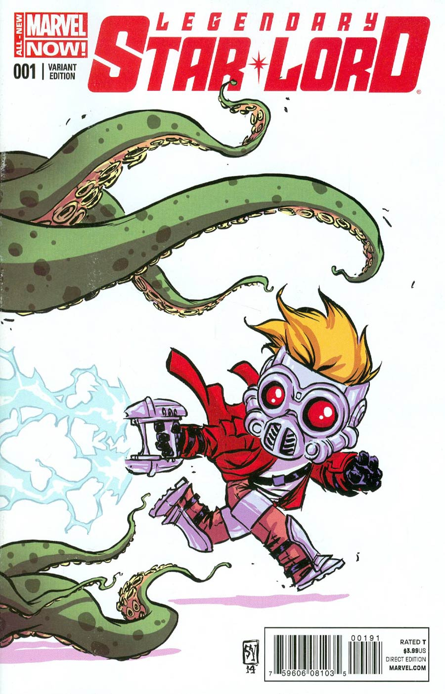 Legendary Star-Lord #1 Cover C Variant Skottie Young Baby Cover