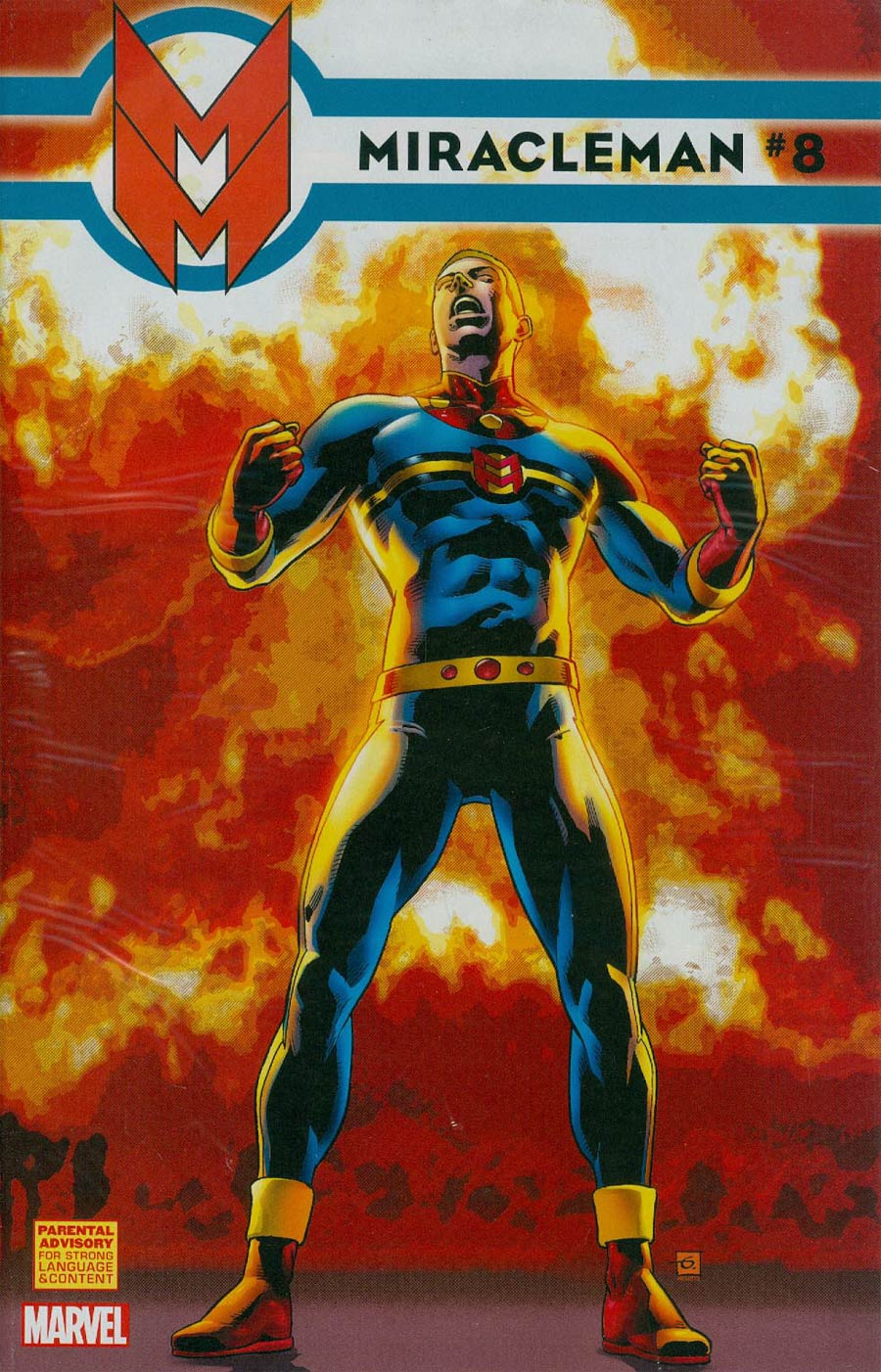 Miracleman (Marvel) #8 Cover C Incentive Dave Gibbons Variant Cover With Polybag
