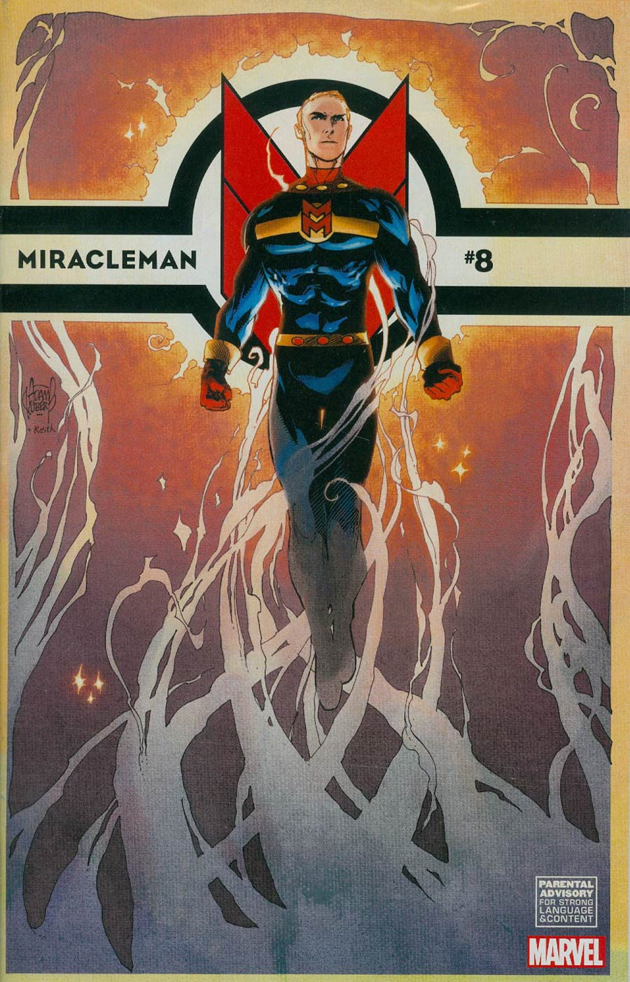Miracleman (Marvel) #8 Cover D Incentive Adam Kubert Variant Cover With Polybag
