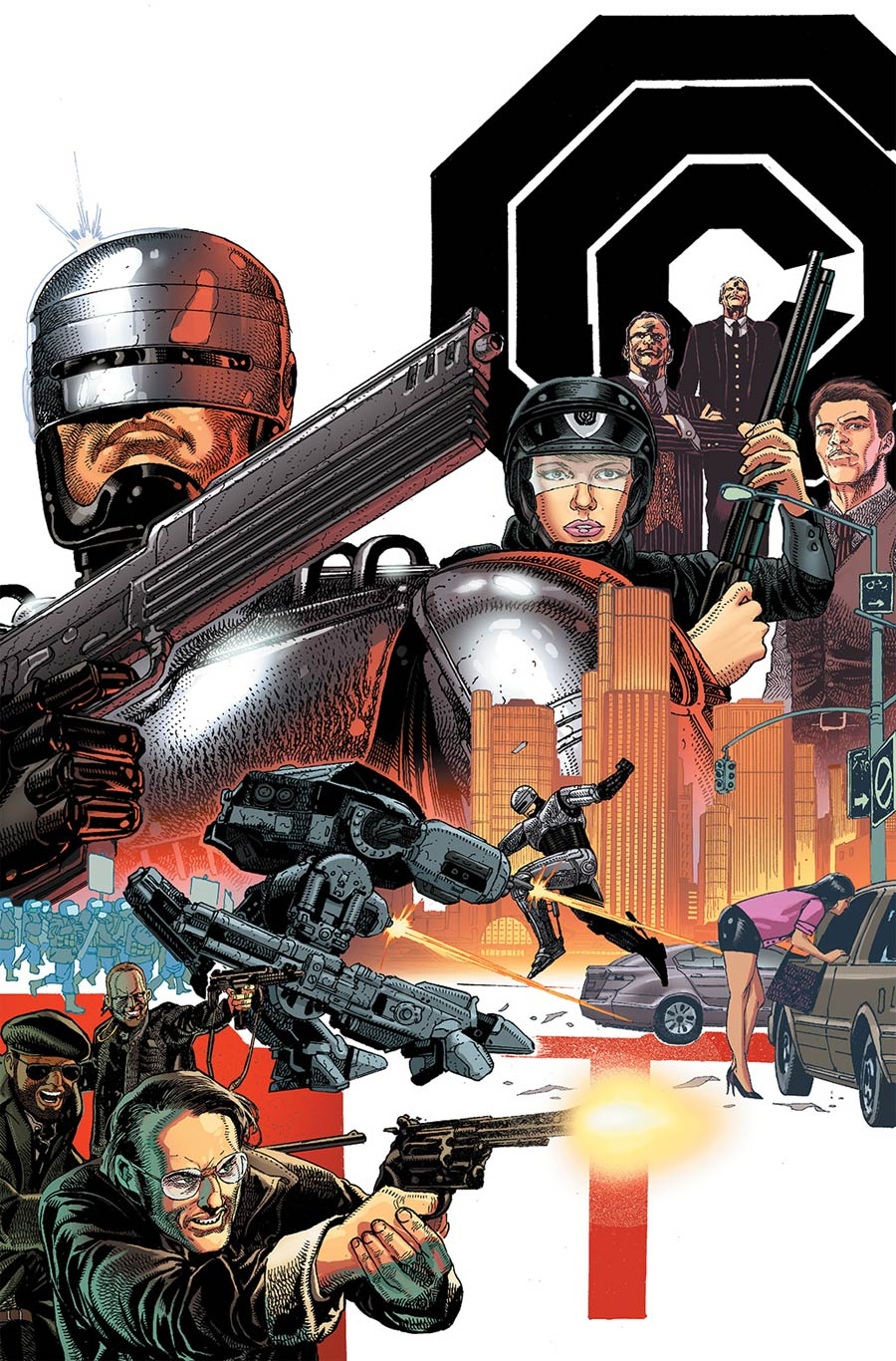 Robocop 2014 #1 Cover B Incentive Carlos Magno Virgin Variant Cover