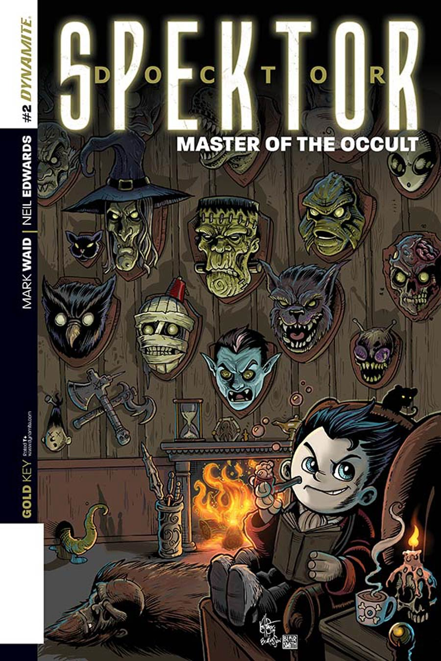 Doctor Spektor Master Of The Occult #2 Cover E Incentive Ken Haeser Lil Spektor Master Of The Occult Variant Cover