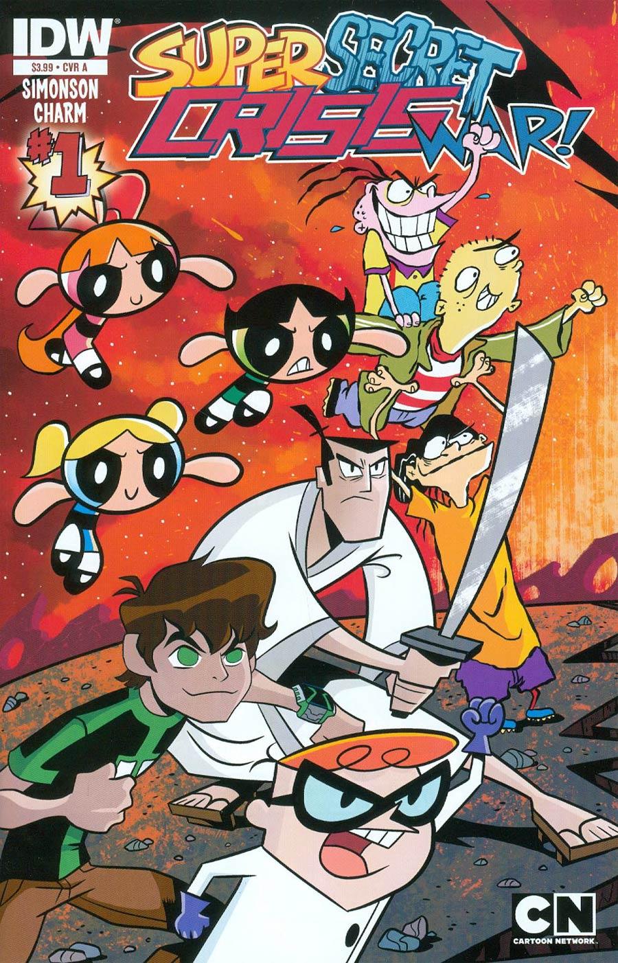 Cartoon Network Super Secret Crisis War #1 Cover A 1st Ptg Regular Heroes Cover