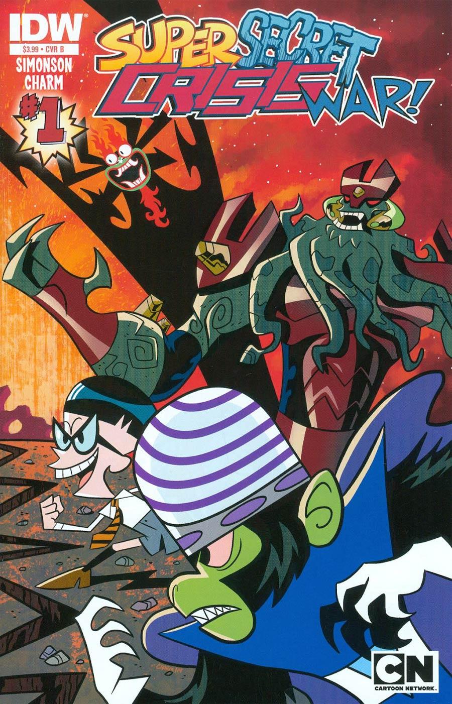 Cartoon Network Super Secret Crisis War #1 Cover B 1st Ptg Regular Villains Cover