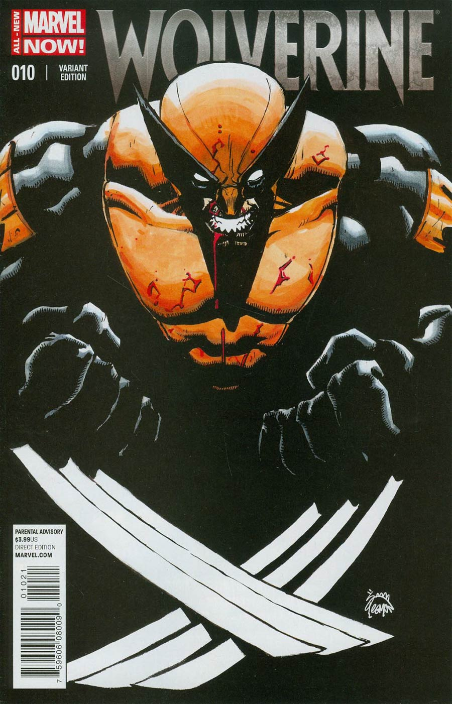Wolverine Vol 6 #10 Cover B Incentive Ryan Stegman Variant Cover (3 Months To Die Part 3)